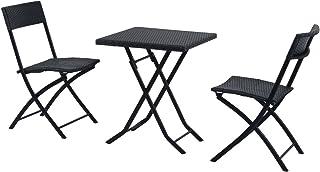 Set Tavolo E 2 Sedie Da Esterno.Amazon It Tavolino E Sedie Da Esterno