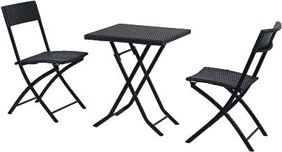 UK-Gardens-Tavolo tondo da giardino verde grigio Patio o da tavolo colore
