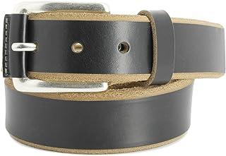 Remo Tulliani Mens 35mm Wide Colton Italian Leather Dress Belt