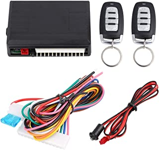 X AUTOHAUX Universal Car Remote Central Door Locking Keyless Entry System DC 12V