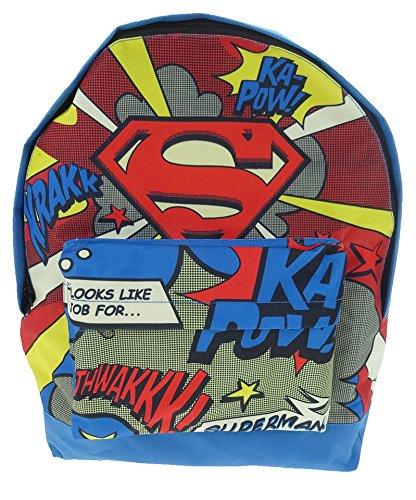 Superman DC Comics Mochila infantil (25 L, multicolor