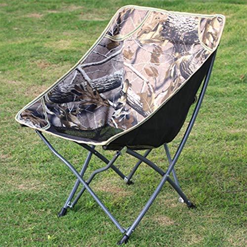 ShiXuan ShiXuan Moderne Freizeit Outdoor Angeln Klappstuhl Easy Beach Camping Picknick BBQ Tragbare ultraleichte Stuhl Balkon Moon Chair