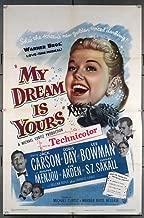 My Dream Is Yours (1949) Original U.S. One-Sheet Movie Poster 27x41 Folded Very Fine Plus DORIS DAY JACK CARSON EVE ARDEN S.Z.