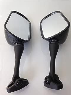 HTT Group Motorcycle Carbon Fiber Racing Mirror For 1999-2006 Honda CBR 600 F4 F4i CBR600RR/2000-2006 Honda RC51 RVT1000R/2002-2003 Honda CBR954RR