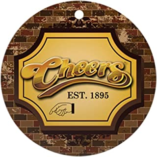 CafePress Cheers Ornament (Round) Round Holiday Christmas Ornament