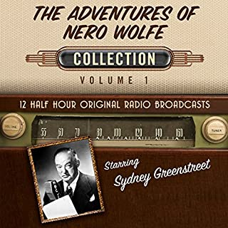 The Adventures of Nero Wolfe, Collection 1 audiobook cover art