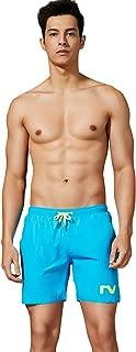 SEOBEAN Mens Sport Swimwear Trunk Boxer Solid Beach Board Shorts