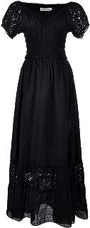 anna black dress