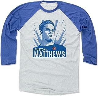 500 LEVEL Auston Matthews Shirt - Vintage Toronto Hockey Raglan Tee - Auston Matthews Legend