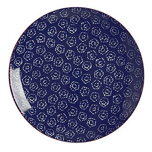 Bruno Evrard Assiette Plate en Porcelaine 27cm - Lot de 4 - Boho