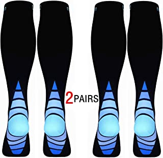 Calves Kelson (2 Pairs) Compression Socks/Stockings for Men