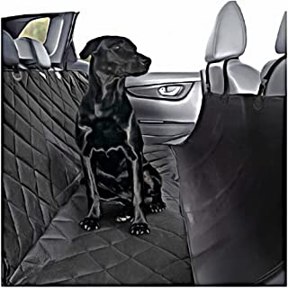 Plush Paws Products Hammock Car Seat Cover with Pet Harnesses
