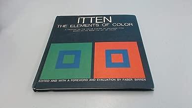 johannes itten the elements of color