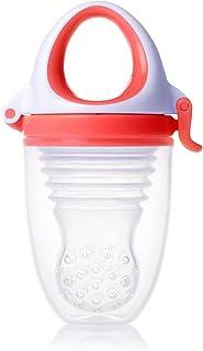 キッズミー 6か月からの離乳食フィーダー モグフィプラス 【日本正規品】 食べる量が増えてきた赤ちゃんに嬉しい大容量タイプ パッション