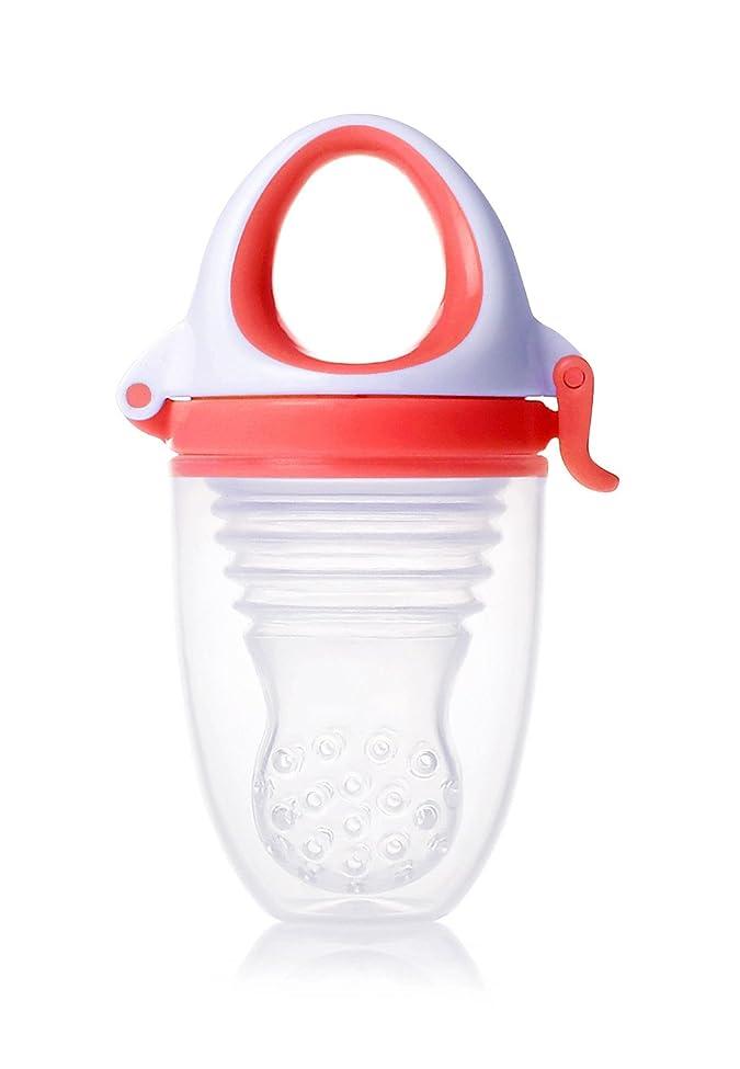 使い込むファランクス厚いキッズミー 6か月からの離乳食フィーダー モグフィプラス 【日本正規品】 食べる量が増えてきた赤ちゃんに嬉しい大容量タイプ パッション