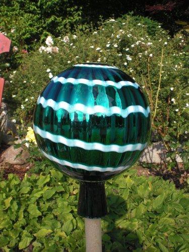 Gartenkugel (R1) Rosenkugel Gartenkugeln Rosenkugeln Glas 25 cm groß (auch mit Rosenkugelstab -Gartenstecker erhältlich)