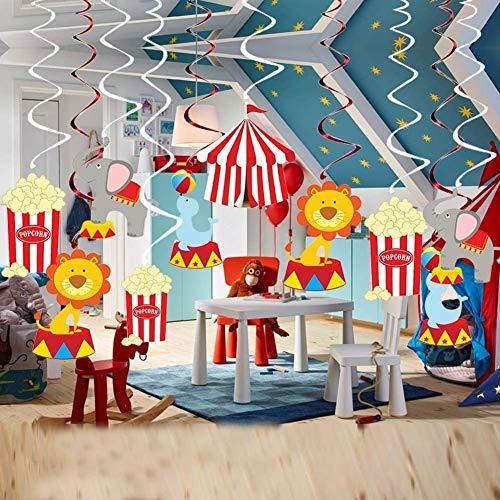AIYANG Cirque Décorations Circus fête l'anniversaire de Plafond de Fournitures fête Carnaval...