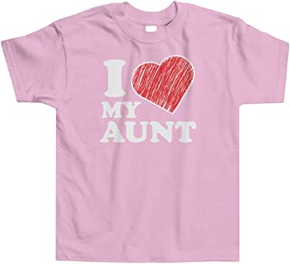 Little Boys' I Love My Aunt Toddler T-Shirt