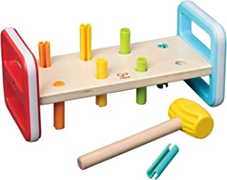 Hape E0506 Rainbow Pounder Toy (10 Pieces)