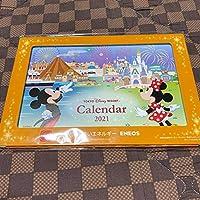 2021年度 東京ディズニーリゾート 卓上カレンダー