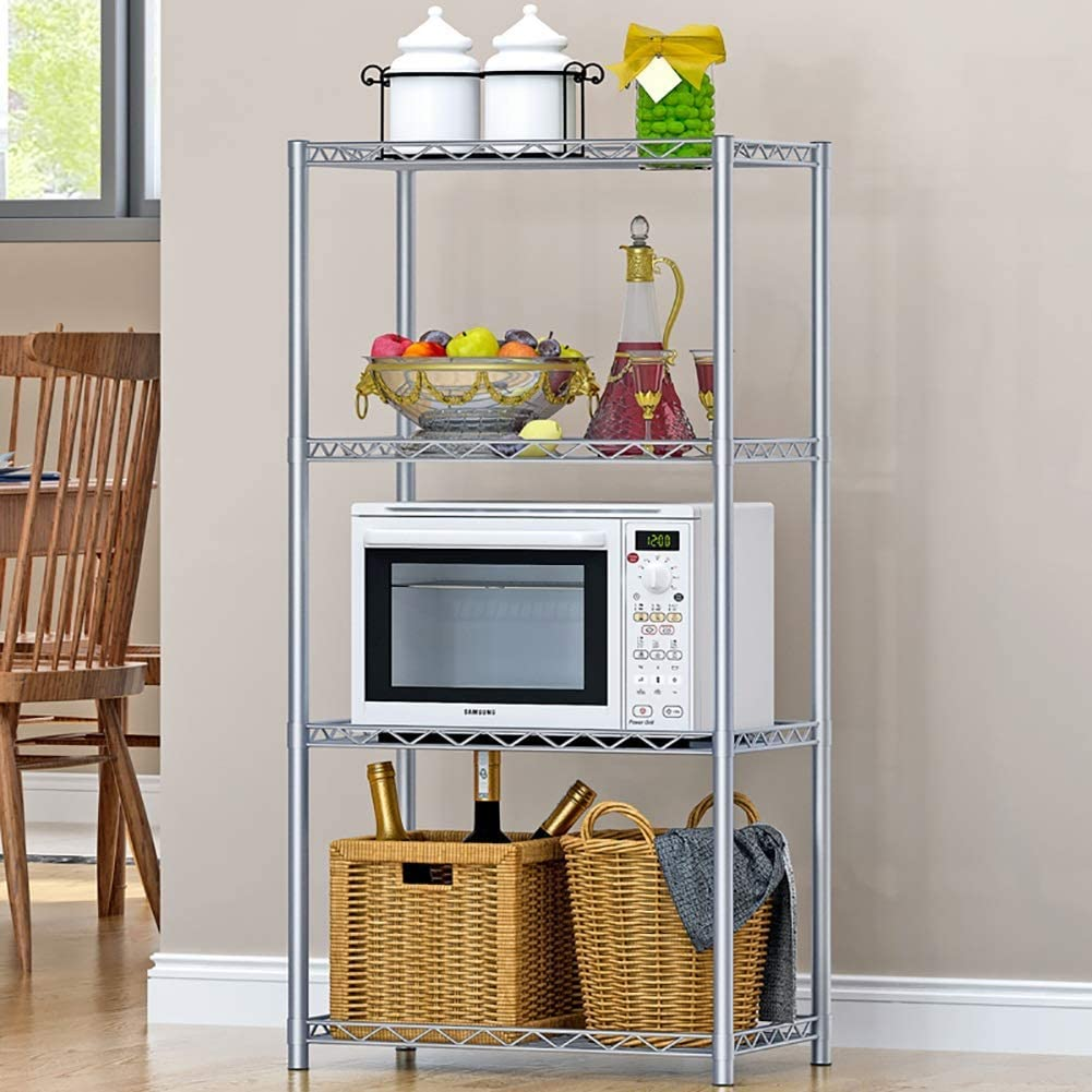 BINGFANG-W Kitchen 4 Popular brand in the world Tier Stacking Stand Shelf Limited Special Price Storage Microwave