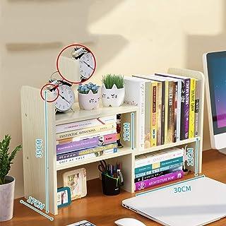 luosh Desktop Organizer Libreria Scaffale per Libri Rivista di Rame Portariviste Accessori da scrivania per Ufficio Home School