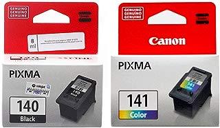 Kit Cartucho Canon PG 140 Preto + PG 141 Colorido Original 8ml