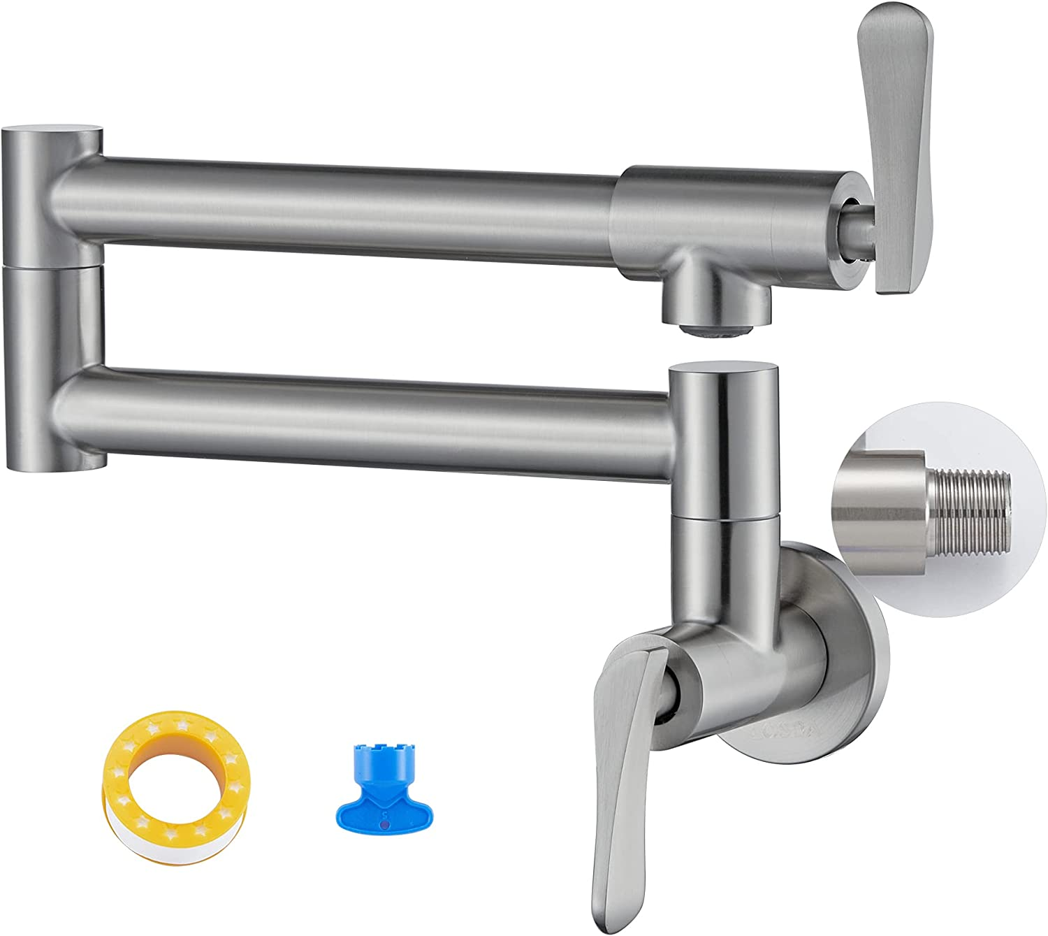 Shipping included Special price Pot Filler Faucet Wall-Mount for NPT Embedded Integrated Kitchen
