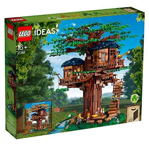 LEGO Ideas Baumhaus Konstruktionsspielzeug