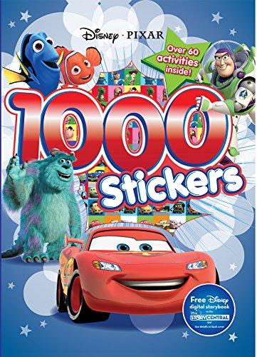 1000 Stickers: Disney Pixar