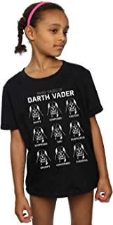 Star Wars Girls Darth Vader Dark Grid Sweatshirt