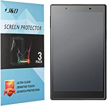 J&D Compatible for 3-Pack Lenovo Tab 4 8-inch Android Tablet Screen Protector, [Anti-Glare] Matte Film Shield Screen Protector for Lenovo Tab 4 8-inch Android Tablet Matte Screen Protector