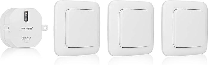 Smartwares 10.032.86 SH5-SET-BS Juego de Luces de Dormitorio, 1