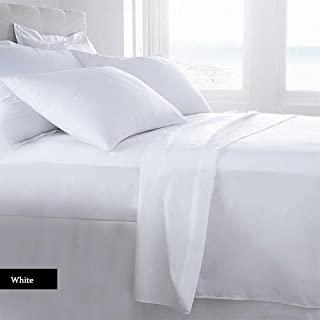 Lussona Collection 1200 Count 100% Egyptian Cotton Bed Sheets - 4 Piece Bed Sheet Set 17