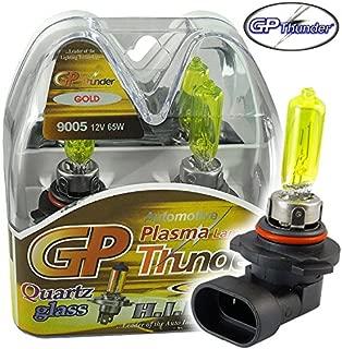GP THUNDER 3500K 9005 HB3 65W Golden Yellow Light Bulbs for Fog Light -High Beam Honda Lexus Toyota SGP35K-05