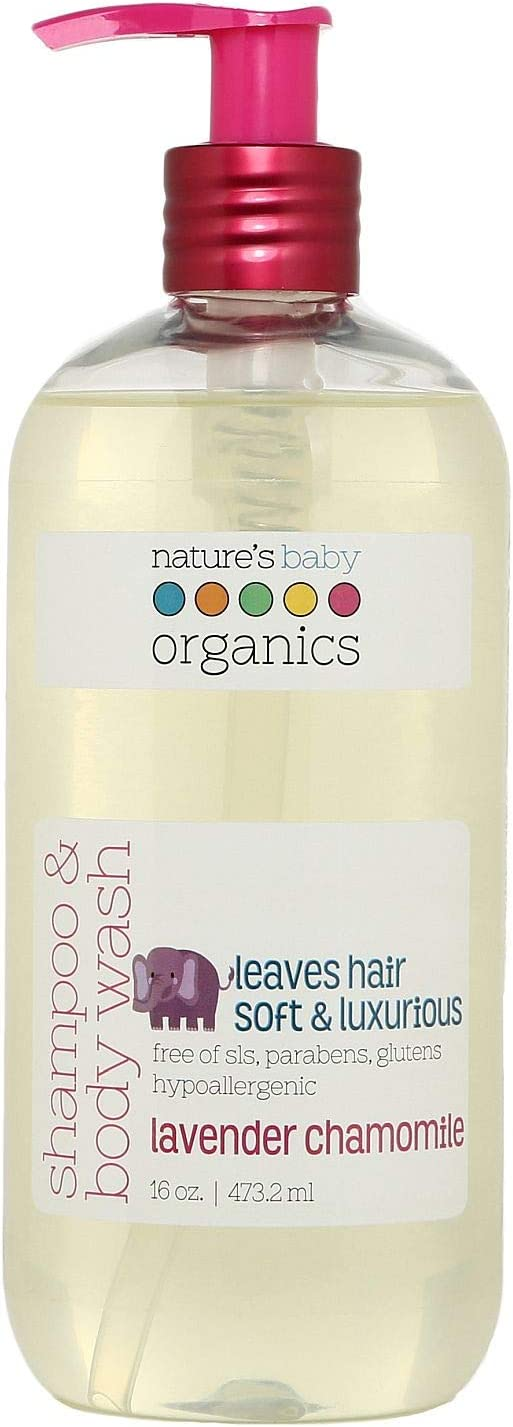 Nature's Baby Lavender Chamomile Free Shipping New Shampoo Ranking TOP14 Sensiti for Formulated