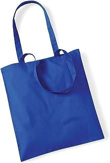 Shirtinstyle Premium Stoffbeutel Baumwolltasche Beutel Shopper Umhängetasche, Farbe brightroyal