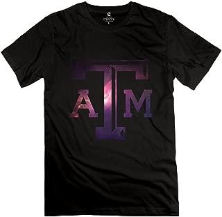 WXTEE Men's Johnny Manziel Rangers Star TAM O-Neck T-shirt White