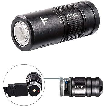 7 LED Aluminium Mini Taschenlampe Kleine superhelle Batterie JUHN