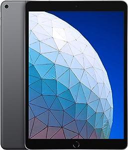 Apple iPad Air (10.5-Inch, Wi-Fi + Cellular, 64GB) - Space Gray (3rd Generation) (2019) (Renewed)