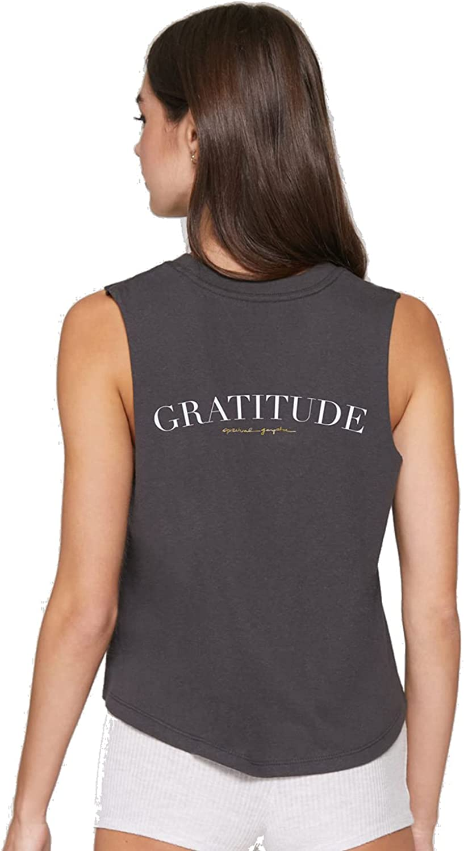 Spiritual Gangster Womens Gratitude Crop Tank