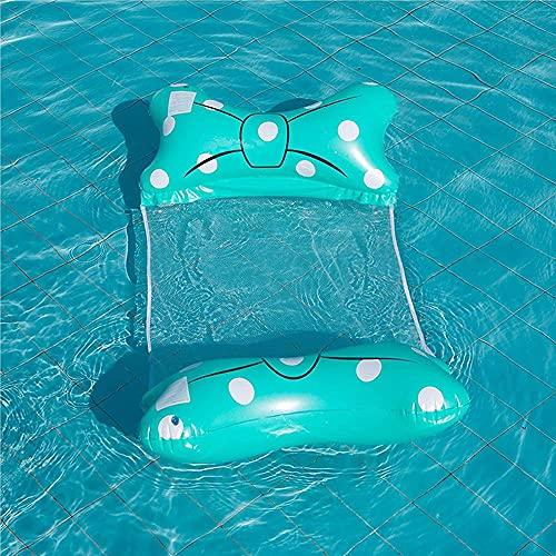 buzhidao Silla de agua Piscina Flotador Hamaca de agua inflable Inflable Piscina...