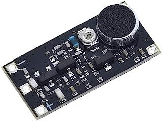 Zhengpingpai 88-115MHz FM Radio Microphone Surveillance Transmitter Module Board Adjustable Capacitor DC 2V 9V 9mA Voltage