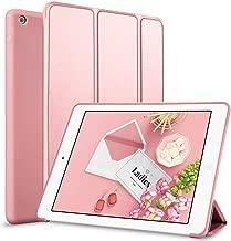 kenke iPad Mini 4 case 7.9 inch Silicone Soft Anti-Scratch Smart Shell Stand Cover Auto Sleep/Wake iPad Mini 4th Generation Model A1538/A1550 (Rose Gold)
