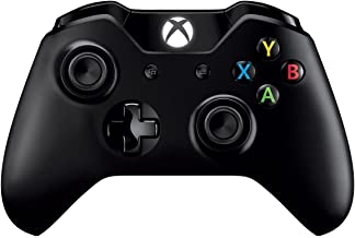 Xbox One Wireless Controller - White/Black (Support for Bluetooth)