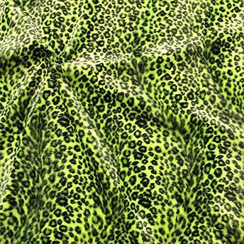 Leopard-Druck Stoff als Meterware Bunter Säugetier