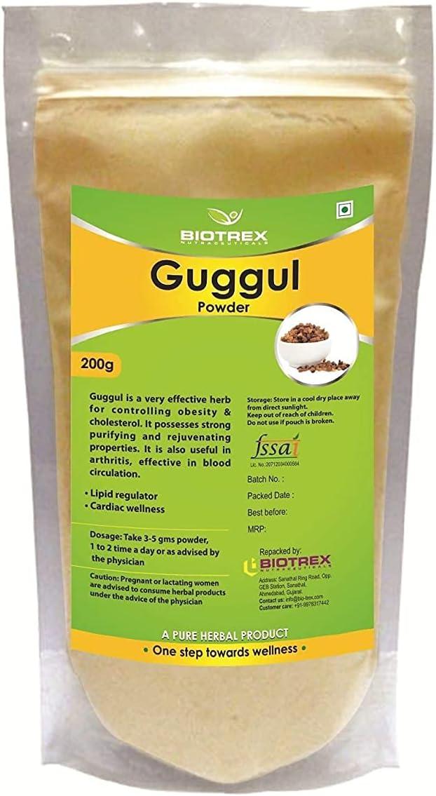 Max 41% Austin Mall OFF Panihari Biotrex Nutraceuticals Guggul Herbal - 200 Powder g