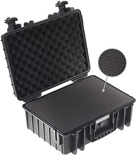 B&W outdoor.cases type 500 (leeg) - Het origineel, kubusschuim, zwart, 470x365x190 (Typ 5000)