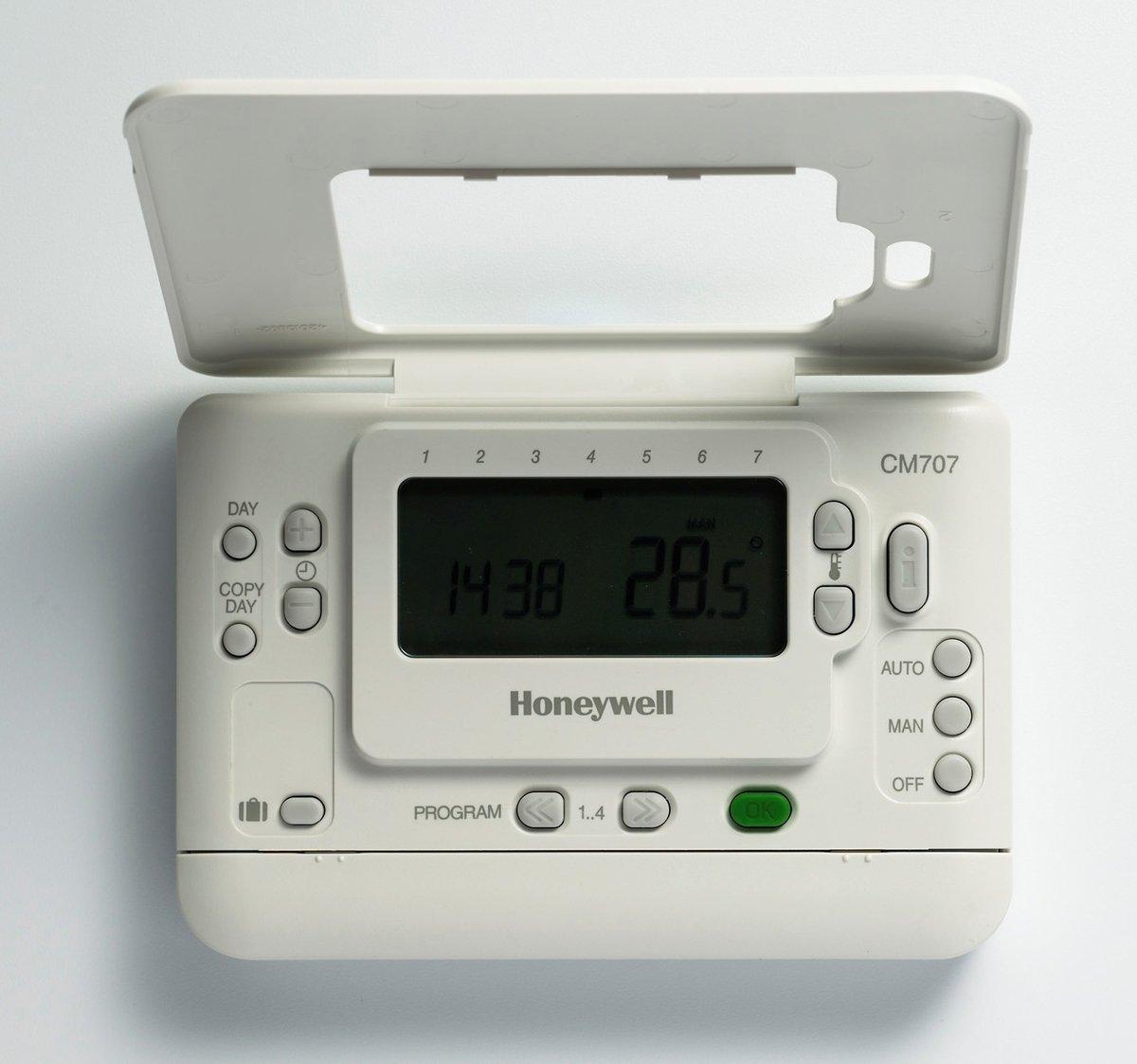 0 W Honeywell Home CMT707A1003 Cronotermostato Honeywell CM707 Blanco 160 X 114 X 50 0 V