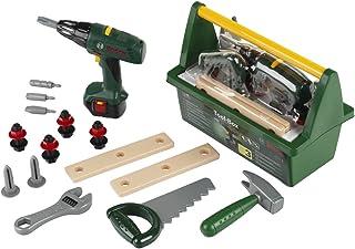 comprar comparacion Theo Klein 8429 Caja de herramientas Bosch, Con sierra, martillo, alicates y mucho más, Destornillador eléctrico a pilas, ...